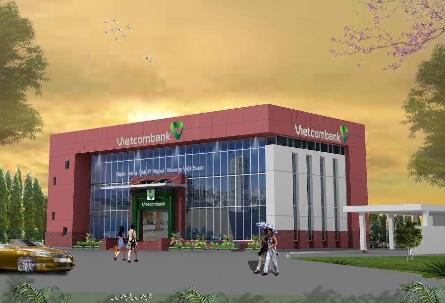 công trình văn phòng Vietcombank xây dựng bằng giải pháp của IBST cáp dự ứng lực