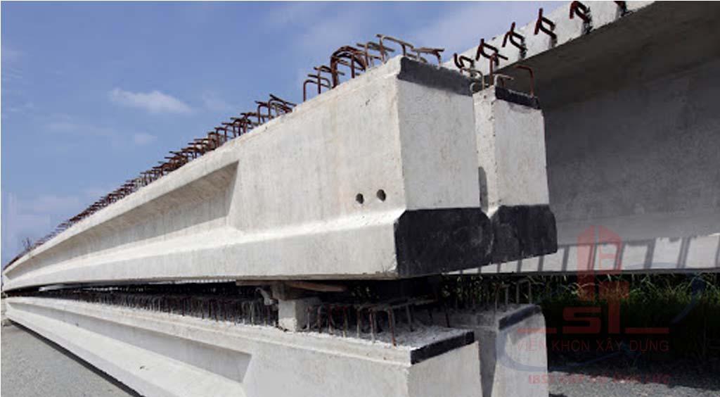 Dầm cầu bê tông cốt thép thường